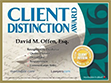 Image Of Client Distinction Badge